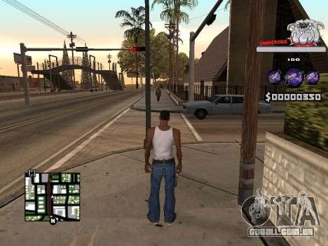 C-HUD by Sorel para GTA San Andreas terceira tela