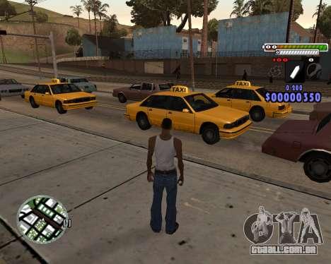 C-HUD by Adam para GTA San Andreas segunda tela
