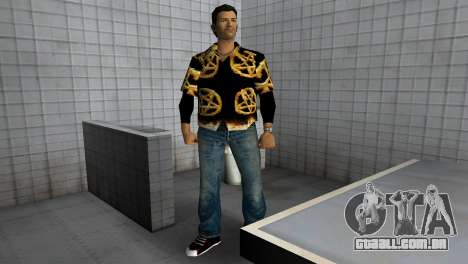 Pentagram Shirt para GTA Vice City terceira tela