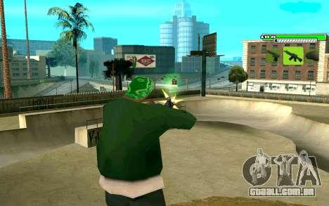 C-HUD Greny para GTA San Andreas segunda tela