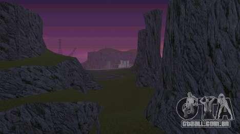 Greening o deserto para GTA San Andreas terceira tela