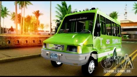 Iveco Minibus para GTA San Andreas vista direita