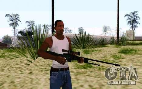 AWP L96A1 (Dodgers) para GTA San Andreas segunda tela
