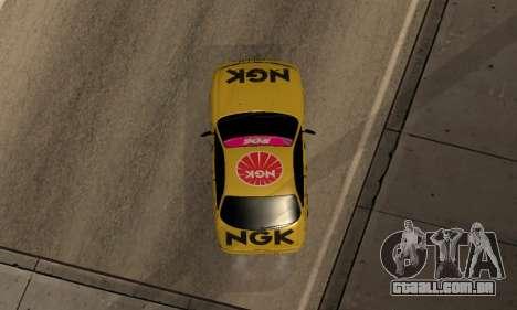 Nissan Silvia S14 NGK para GTA San Andreas vista traseira