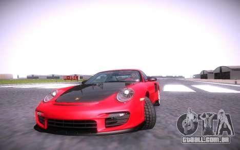 ENB infinity Beta Edition para GTA San Andreas quinto tela