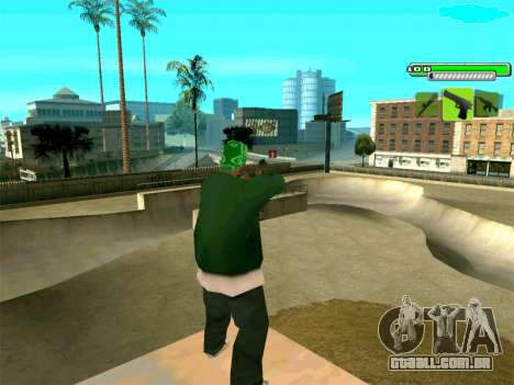 C-HUD Greny para GTA San Andreas terceira tela