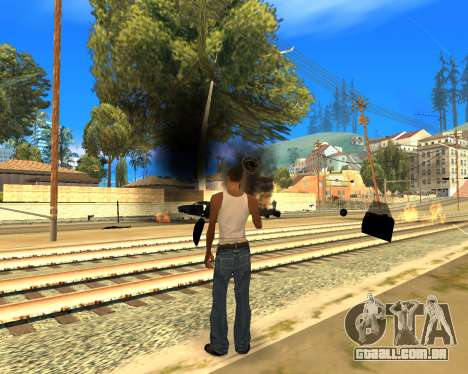 Effect Mod 2014 By Sombo para GTA San Andreas por diante tela