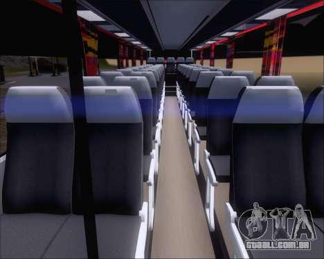 Nissan Diesel UD Santarosa EAGLESTAR 998 para GTA San Andreas vista interior