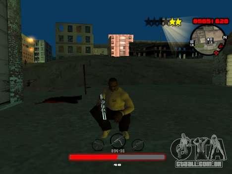 C-HUD by SantiManti para GTA San Andreas