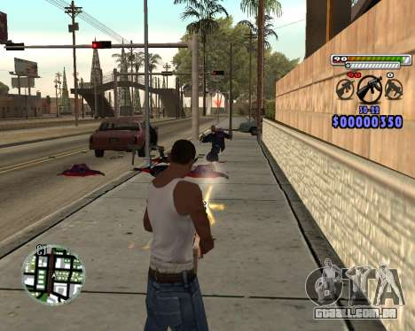 C-HUD by Adam para GTA San Andreas terceira tela