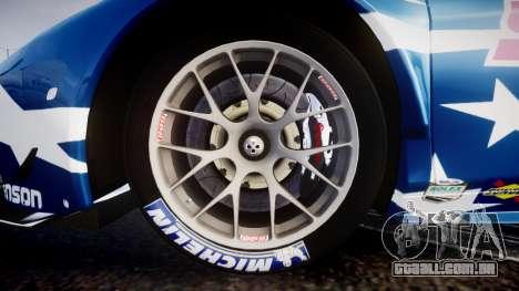 Ferrari 458 GT2 Stevenson Racing para GTA 4 vista de volta
