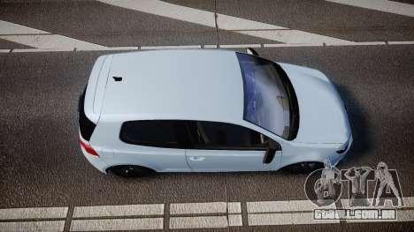 Volkswagen Golf R para GTA 4 vista direita