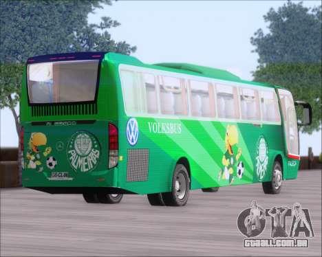 Busscar Vissta Buss LO Palmeiras para vista lateral GTA San Andreas