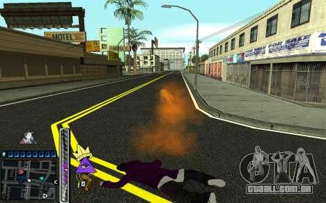 C-HUD Lite SWAG para GTA San Andreas sexta tela