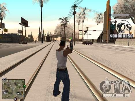 C-HUD Laden para GTA San Andreas segunda tela