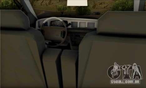 Ford Crown Victoria NYPD Blue para GTA San Andreas vista direita