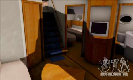 Speed Yacht para GTA San Andreas vista traseira