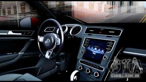 Volkswagen Golf GTI 2015 para GTA San Andreas