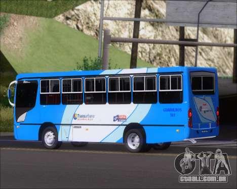Caio Foz Super I 2006 Transurbane Guarulhoz 541 para GTA San Andreas vista traseira