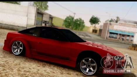 Nissan 180SX para GTA San Andreas vista direita