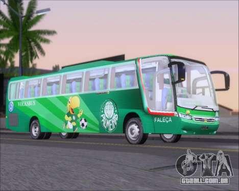 Busscar Vissta Buss LO Palmeiras para GTA San Andreas traseira esquerda vista