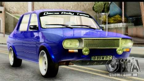 Dacia 1300 B 89 WRC para GTA San Andreas