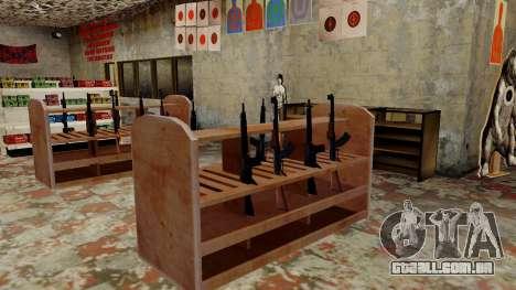 Modelos 3D de armas Ammu-nation para GTA San Andreas nono tela