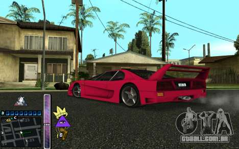 C-HUD Lite SWAG para GTA San Andreas quinto tela