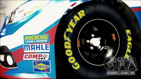 Chevrolet SS NASCAR Sprint Cup Series 2013-2014 para GTA San Andreas traseira esquerda vista