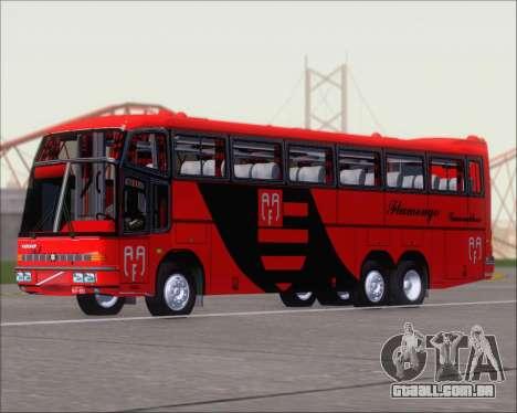 Marcopolo Paradiso G4 Flamengo Guarulhos para GTA San Andreas esquerda vista