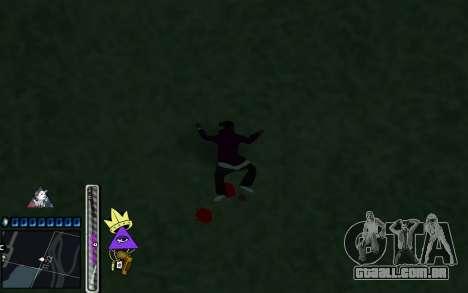 C-HUD Lite SWAG para GTA San Andreas por diante tela
