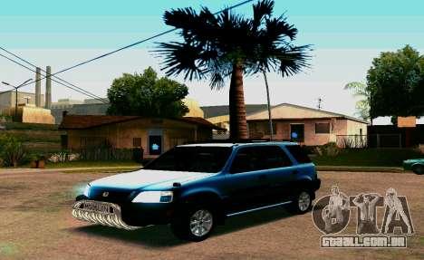 Honda CR-V para GTA San Andreas