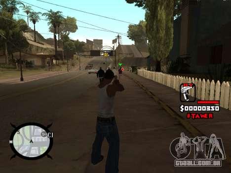 HUD by LokoMoko para GTA San Andreas segunda tela