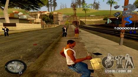 C-HUD Dragon para GTA San Andreas