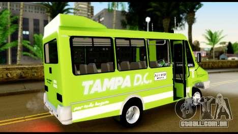 Iveco Minibus para GTA San Andreas esquerda vista