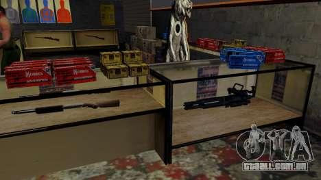 Modelos 3D de armas Ammu-nation para GTA San Andreas décima primeira imagem de tela