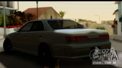 Toyota Mark 2 Stock para GTA San Andreas esquerda vista