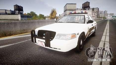Ford Crown Victoria LCSO [ELS] Vision para GTA 4