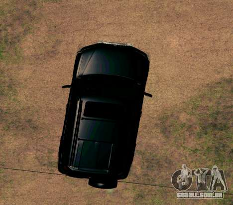 Honda CR-V para GTA San Andreas vista interior