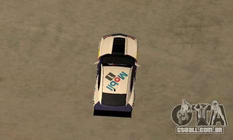 Chevrolet Camaro ZL1 RedBull para GTA San Andreas traseira esquerda vista