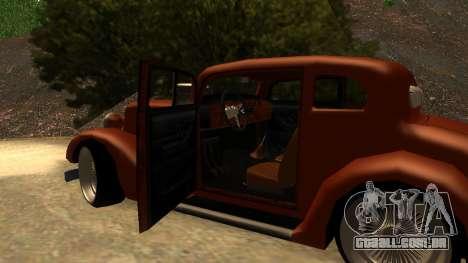 New Hustler para GTA San Andreas vista direita