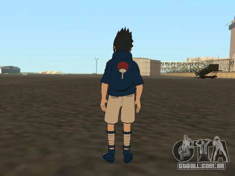Sasuke Uchiha para GTA San Andreas terceira tela