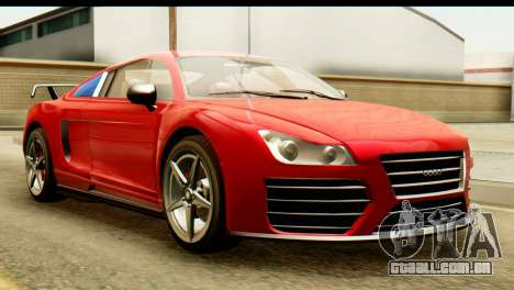 GTA 5 Obey 9F Coupe SA Mobile para GTA San Andreas