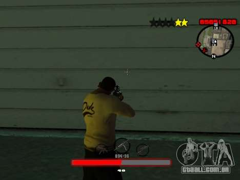C-HUD by SantiManti para GTA San Andreas terceira tela