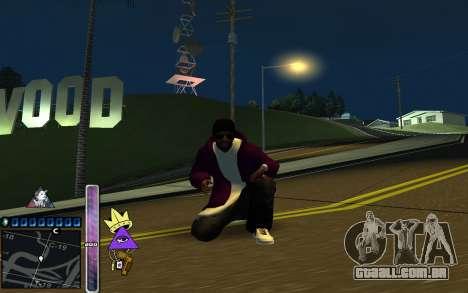 C-HUD Lite SWAG para GTA San Andreas segunda tela