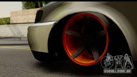 Toyota Corolla ENS Tuning para GTA San Andreas traseira esquerda vista