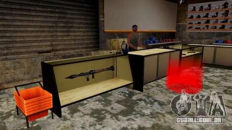 Modelos 3D de armas Ammu-nation para GTA San Andreas quinto tela