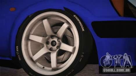 Peugeot 106 GTI F Tuning para GTA San Andreas traseira esquerda vista