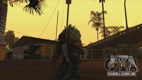 Katana from Killingfloor para GTA San Andreas segunda tela