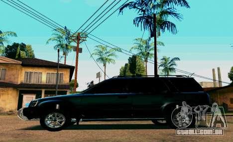Honda CR-V para GTA San Andreas traseira esquerda vista